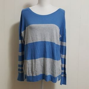 Caslon Striped Textured Sweater